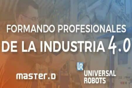 MasterD renueva la colaboración con Universal Robots para formar en robótica