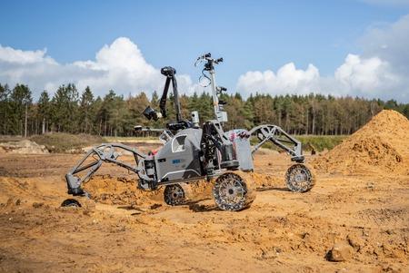El proyecto ADE coordinado por GMV prueba con éxito el robot SherpaTT