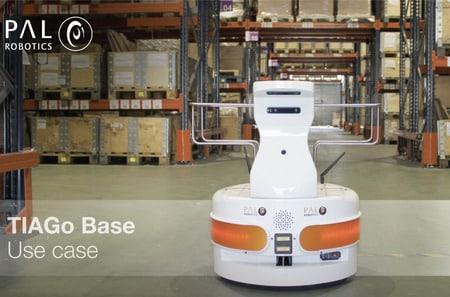 El robot TIAGo ayuda en la logística de un centro con discapacitados