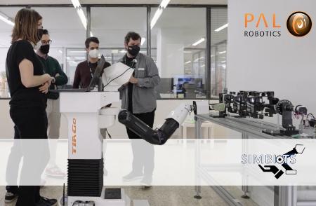 El robot TIAGo participa en el proyecto de investigación SIMBIOTS