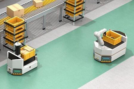 Robots móviles para empresas