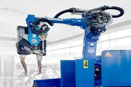 Robots soldadores de Yaskawa