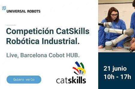 Universal Robots impulsa en la FP una competición sobre robótica industrial
