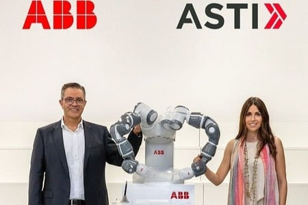 ABB compra ASTI Mobile Robotics para liderar la robótica móvil mundial