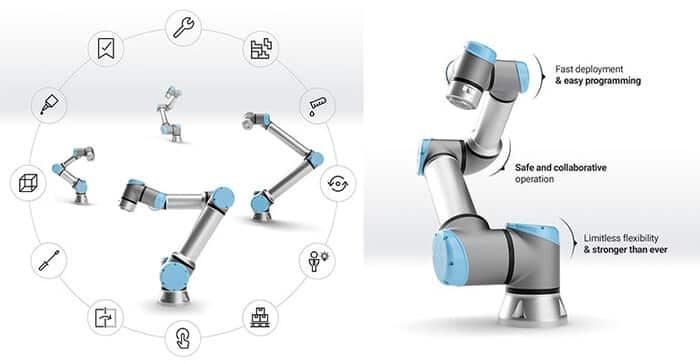 Cobots de universal robots