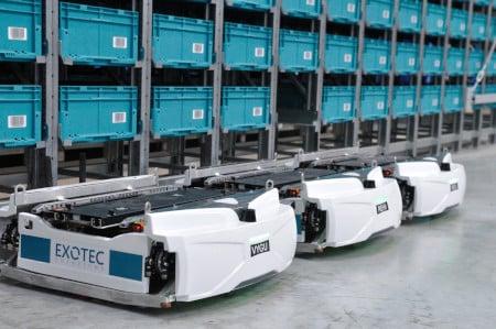 Exotec apuesta por llevar sus robots AMR al mercado americano