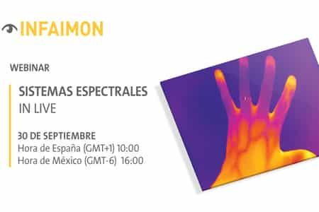 """INFAIMON organiza webinar sobre el análisis de """"Sistemas espectrales"""""""