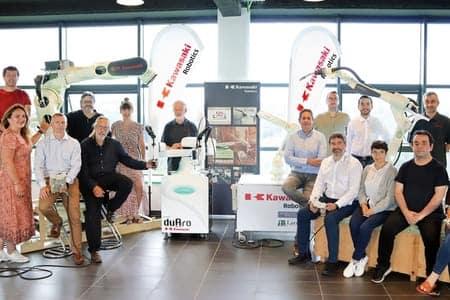 KAWASAKI Robotics nombra a Larraioz Elektronika distribuidor oficial en España