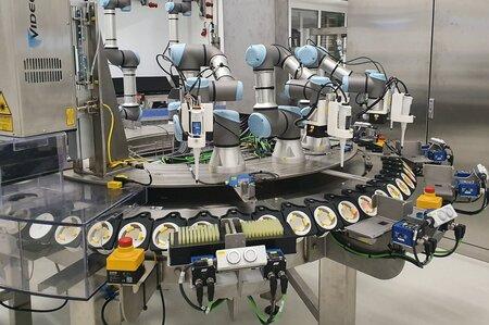 Robots colaborativos para la industria alimentaria