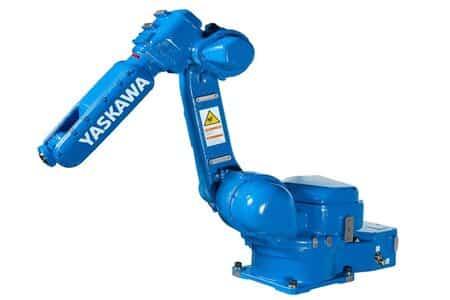 Robots de Yaskawa para pintar piezas