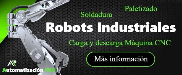 Especialistas en Robots Industriales
