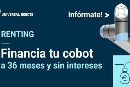 Nuevas condiciones de renting para los cobots de Universal Robots