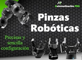 Pinzas robóticas A.P