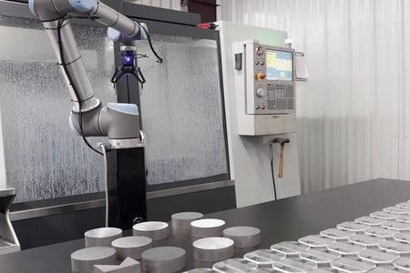 Robots colaborativos para centros de mecanizado